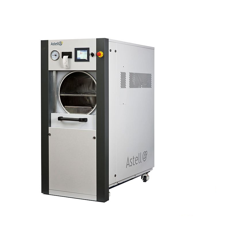 THE ASTELL 120 - 344 LITER SLIDING FRONT AUTOCLAVE RANGE