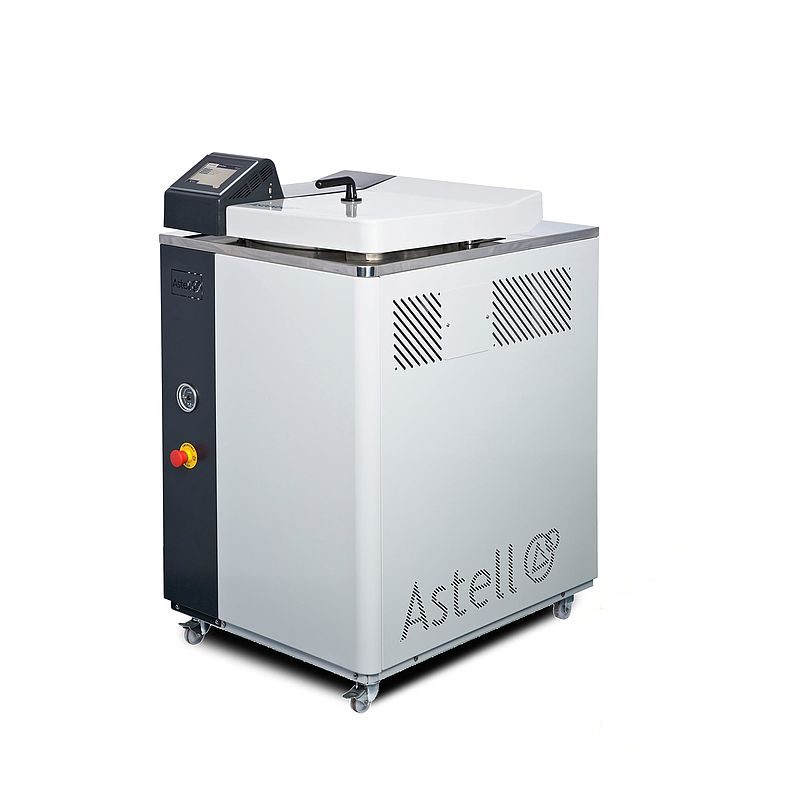 THE ASTELL 95 - 135 LITER TOP LOADING AUTOCLAVE RANGE